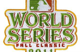 2011 World Series Patch