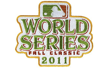 2011 World Series Patch