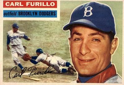 1956 Topps Carl Furillo