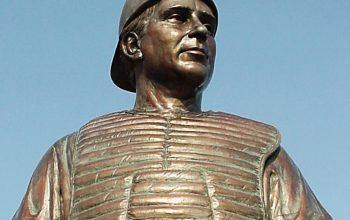 Johnny Bench Statue Dedication Day