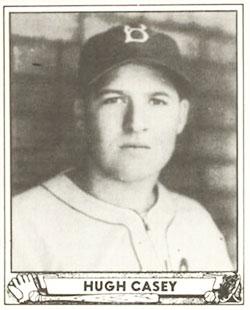 Hugh Casey Baseball Card