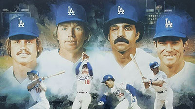 Dodgers Infield Litho