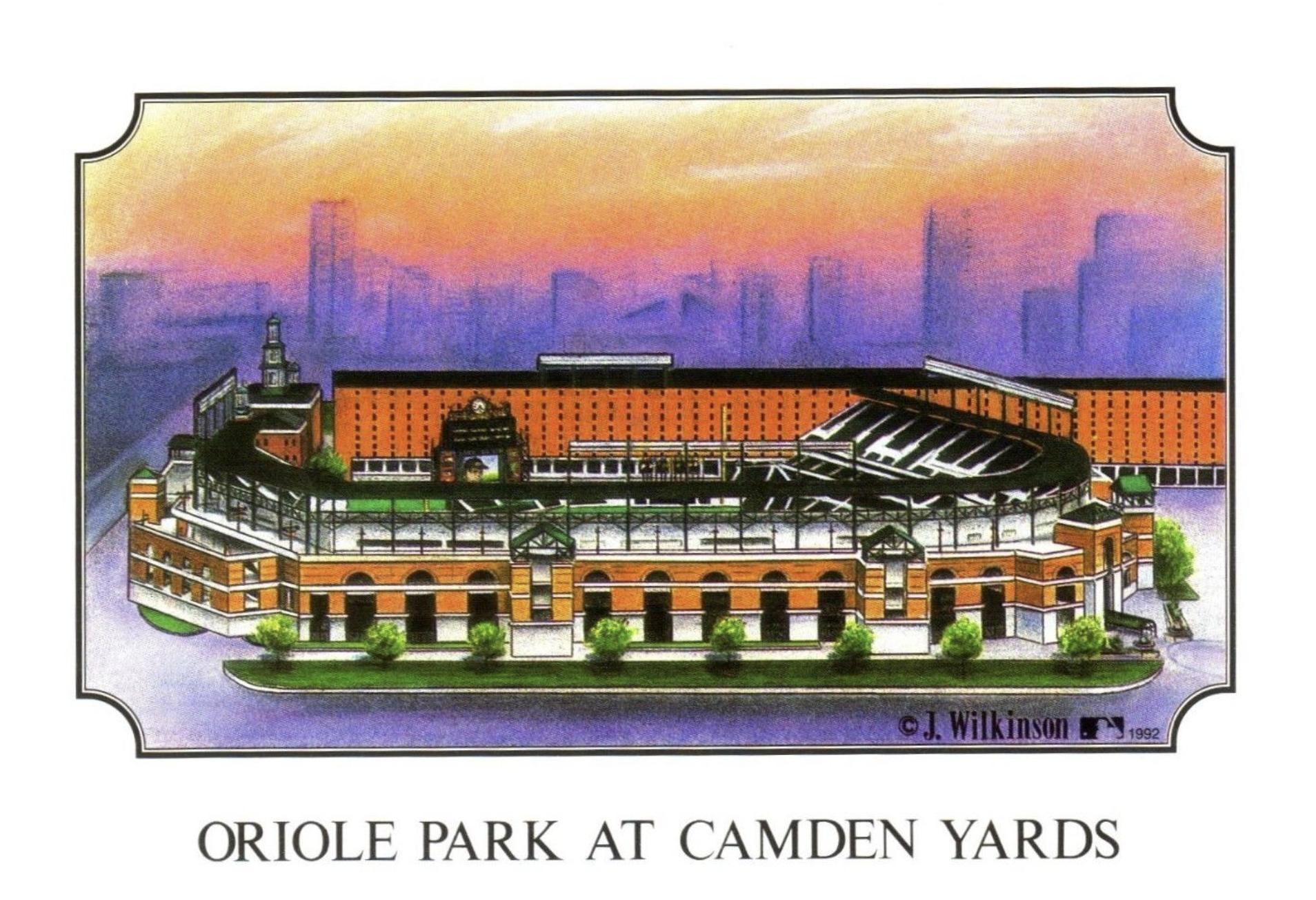 Park Spotlight Oriole Park At Camden Yards
