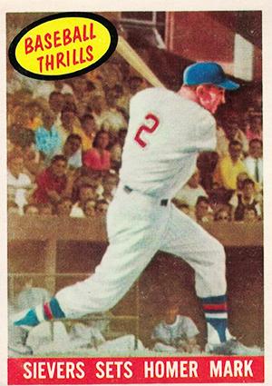 Roy Sievers 1959 Topps Baseball Card