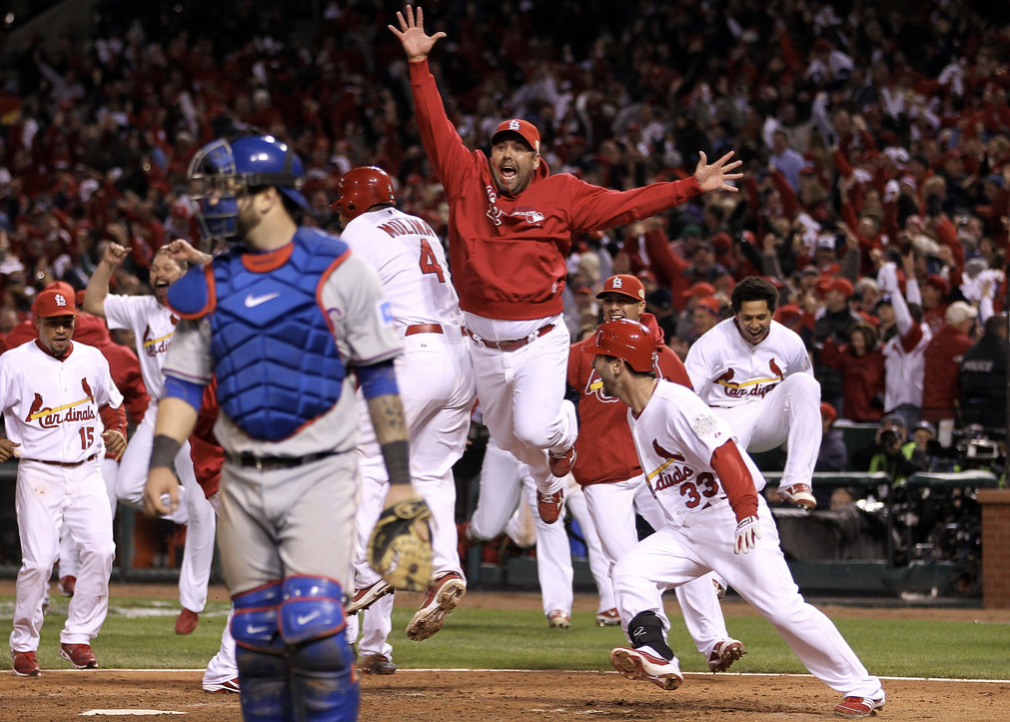 Cardinals Celebrate World Series Victory MLB Properties LLC